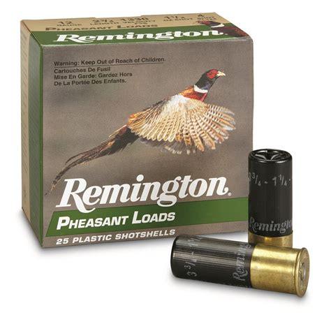 12 Gauge Ammo For Shooting Pheasants