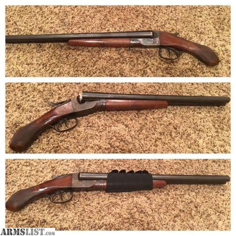 12 Gauge Double Barrel Sawed Off Shotgun
