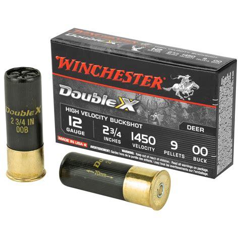 12 Gauge Double Ought Buck Ammo