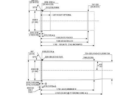 12 Gauge Shotgun Chamber Dimensions