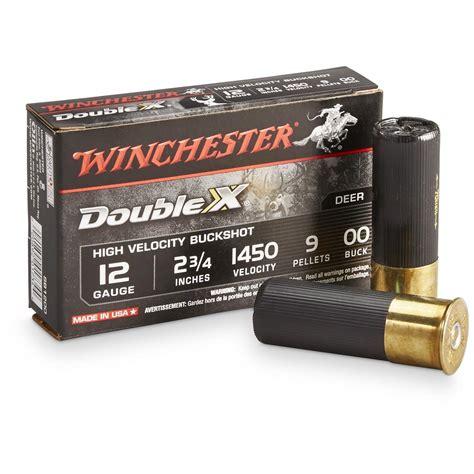 12 Gauge Shotgun Oo Buckshot