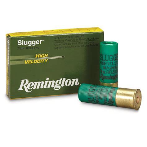 12 Gauge Shotgun Slug Velocity
