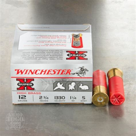 12 Gauge Small Game Ammo