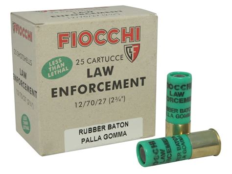12 Gauge Special Ammo Less Lethal