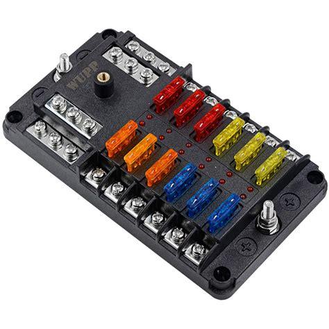 12 Volt Automotive Fuse Box