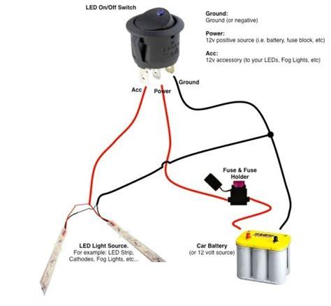 12 Volt Dc Switch Wiring Diagram