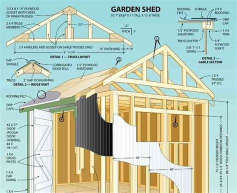 12-8-Lean-To-Shed-Plans