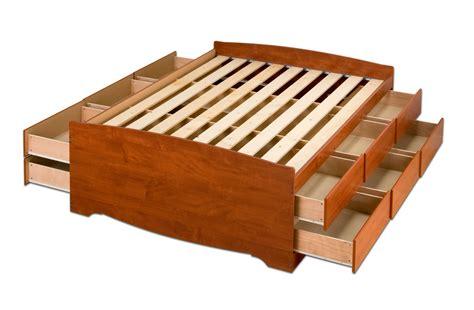 12-Drawer-Platform-Bed-Plans