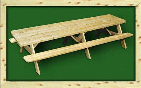 12-Foot-Long-Picnic-Table-Plans