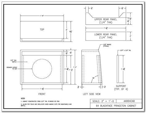 12-Guitar-Speaker-Cabinet-Plans