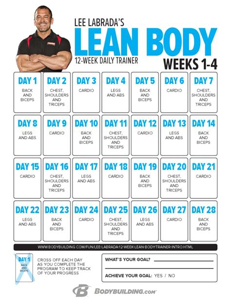 [pdf] 12-Week Fitness  Nutrition Program - Labrada Com.