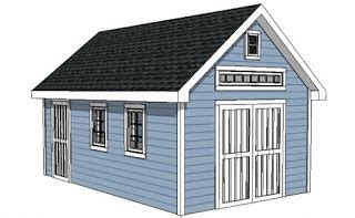 12-X-16-Shed-Roof-Plans