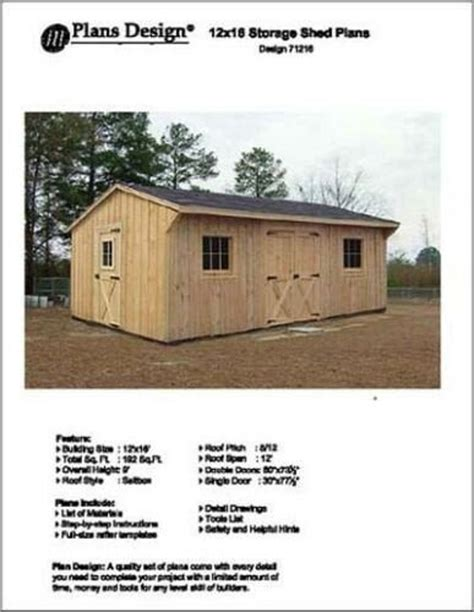 12-X-18-Saltbox-Style-Storage-Shed-Project-Plans