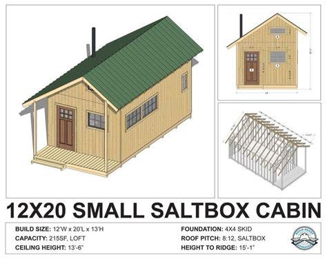 12-X-20-Cabin-With-Loft-Plans