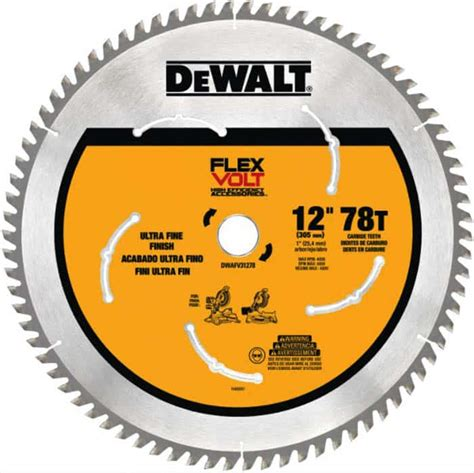 12 inch miter saw blade Image