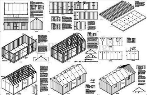 12 x 24 shed plans Image