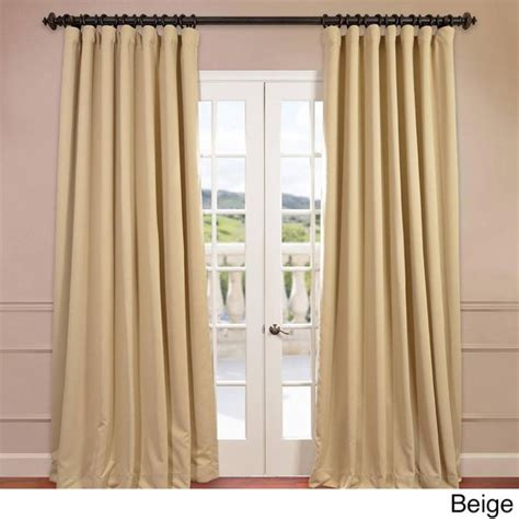 120 Inch Wide Blackout Curtains