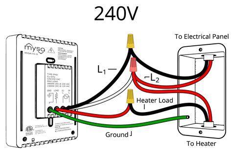 120 Volt Electric Baseboard Heater Wiring Diagram