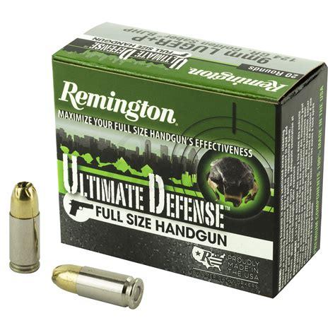 124 Gr Sjhp 9mm Ammo Remington For Sale