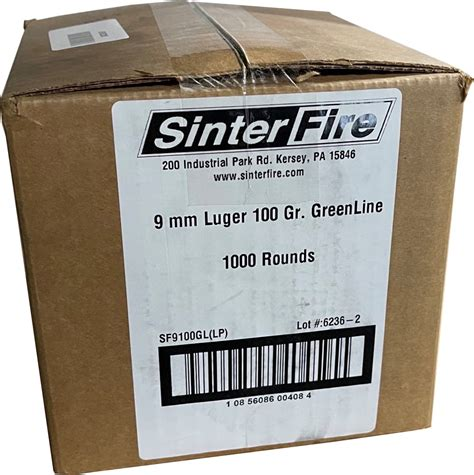 124 Grn Frangible Ammo
