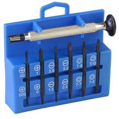 12in1 Precision Miniature Screwdriver Set Brownells Ch