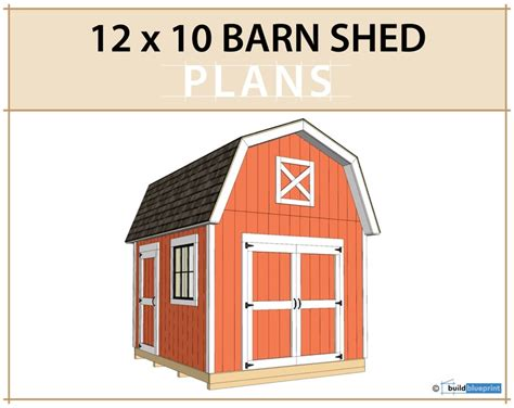 12x10-Barn-Shed-Plans