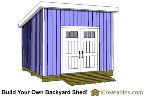 12x12 Lean To Shed Plans With Material List