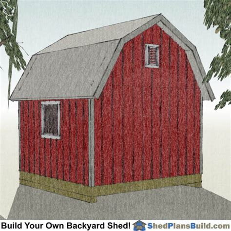 12x12-Gambrel-Shed-Plans