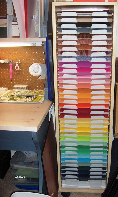 12x12-Scrapbook-Paper-Organizer-Rack-Storage-Plans