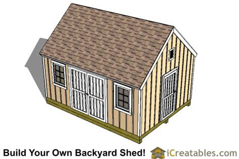 12x16-Colonial-Shed-Plans