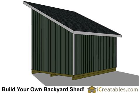 12x16-Lean-To-Shed-Plans-With-Loft