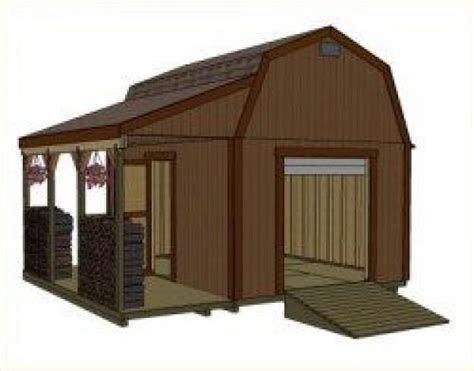 12x16-Shed-Plans-Gambrel