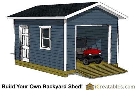 12x16-Shed-Plans-With-Garage-Door