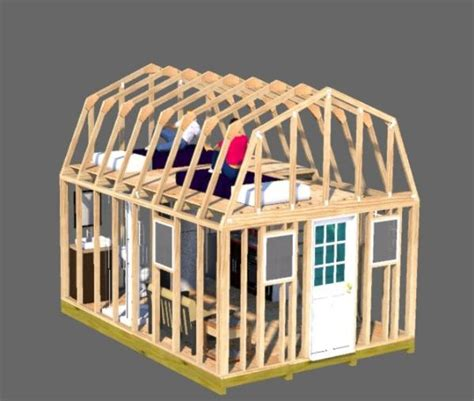 12x16-Storage-Shed-With-Loft-Plans