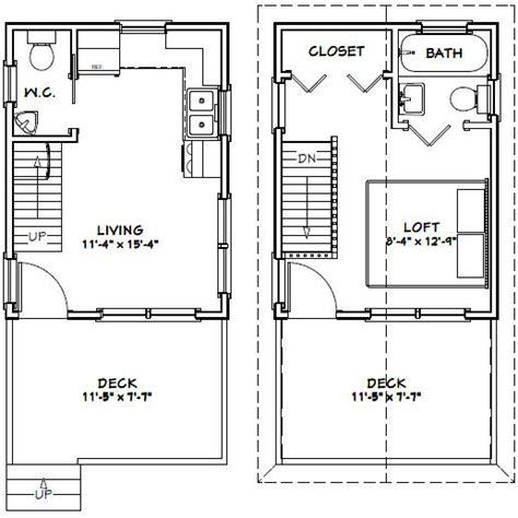 12x16-Tiny-House-Floor-Plans