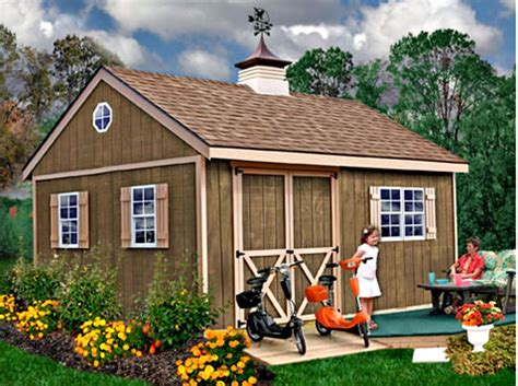 12x16-Wood-Storage-Shed-Plans