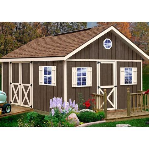 12x16 shed kits Image