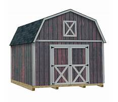 Best 12x16 wood shed