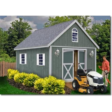 12x16 wood shed kits Image
