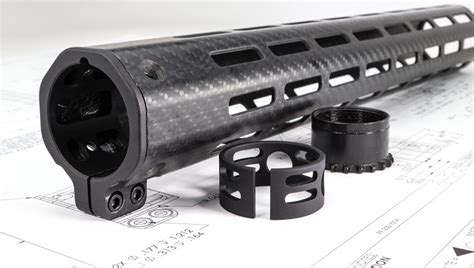 13 In Carbon Fiber Rifle Handguards