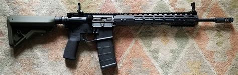 13 Or 15 Inch Handguard For M4 With 16 Barrel