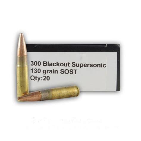 130gr Sost Ammo