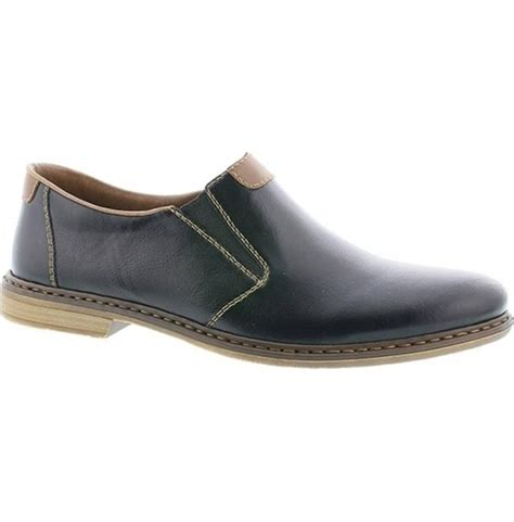 13468-00 Schwarz/Mogano (Black) Mens Shoes
