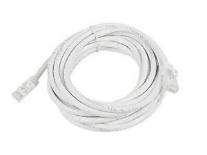 14 Feet Mini Cat6 Molded 28AWG W/Boots White 10 Pack