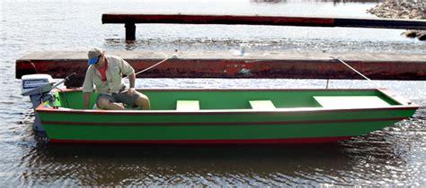14-Ft-Wooden-Jon-Boat-Plans