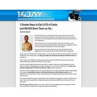 14 day rapid fat loss macro patterning nutrition & exercise system review