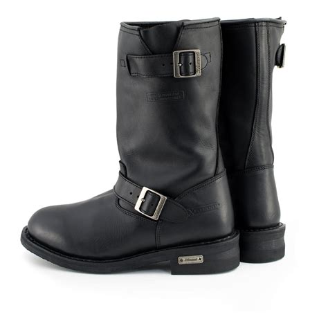 1440 Classic Mens Black Engineer Boots - 13.0 EE