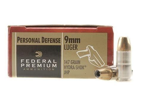 147 Grain 9mm Self Defense