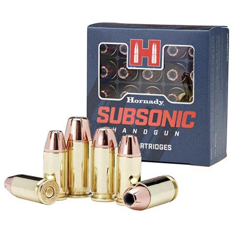 147 Grain 9mm Subsonic Ammo
