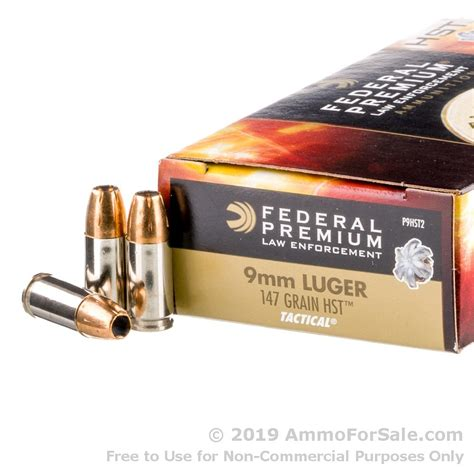 147g Federal 9mm Hst For Sale Bulk Ammo And 17 Subsonic Ammo